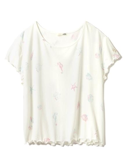 美人魚主題T-shirt