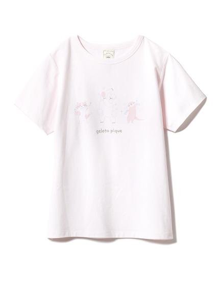 動物沐浴主題t-shirt