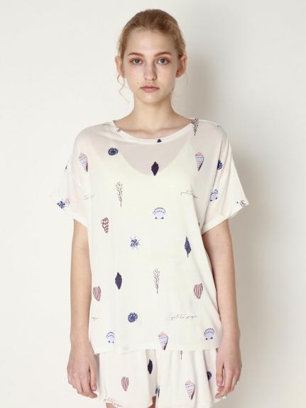 貝殼彩繪T-Shirt
