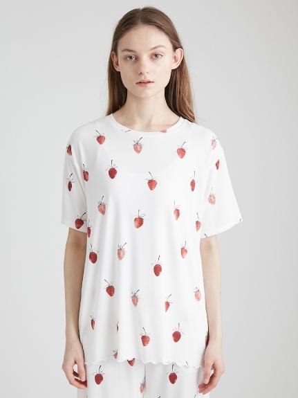 草莓印花T-Shirt