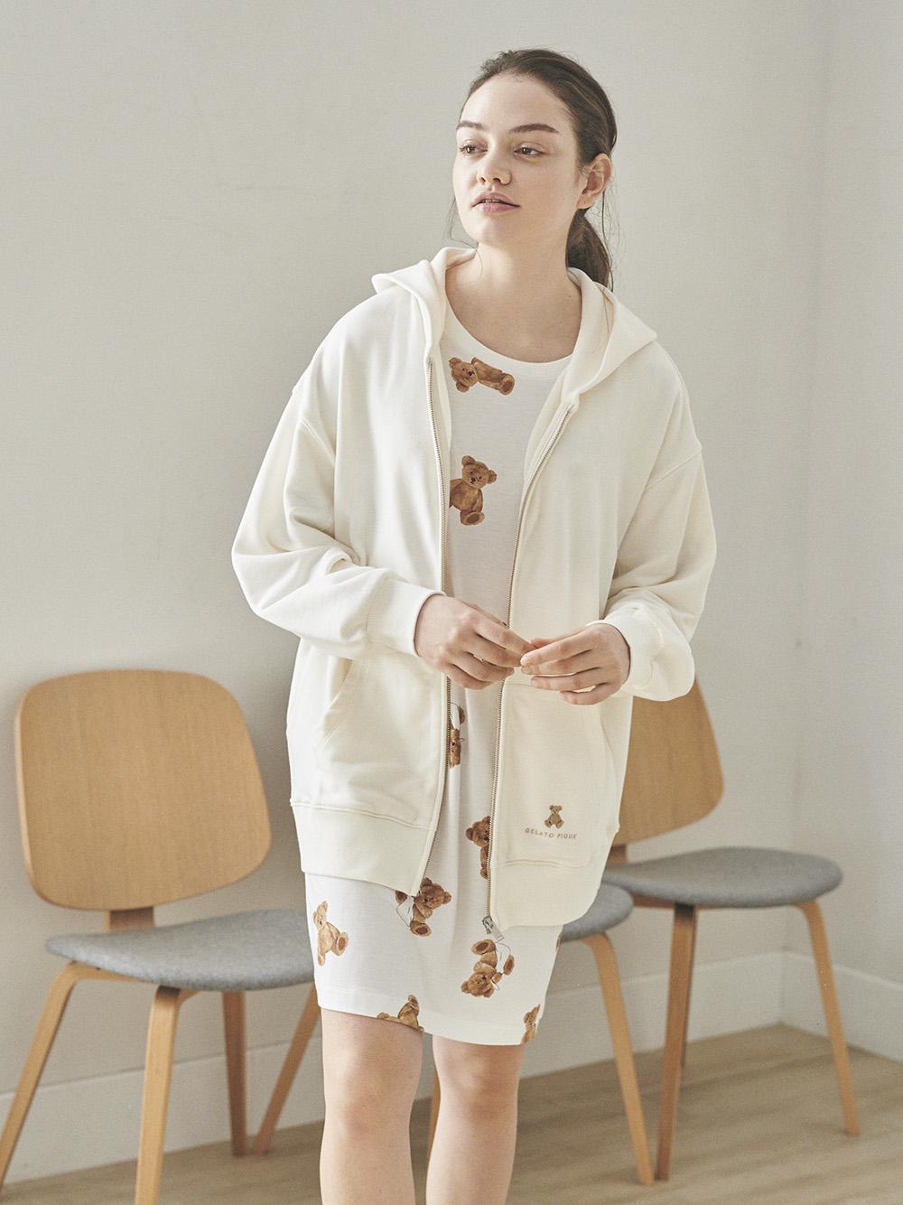小熊刺繡外套