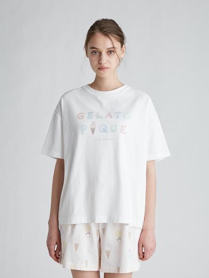 冰淇淋LOGO涼感T-Shirt