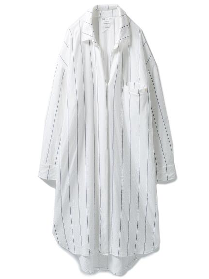 純棉居家襯衫洋裝
