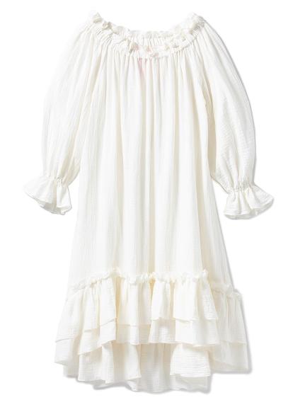 【10th】雙層荷葉邊洋裝