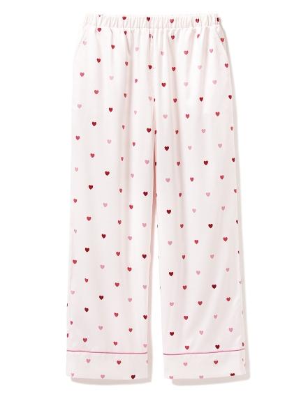 緞面愛心造型長褲