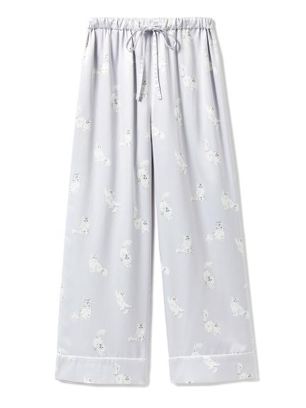 貓咪絲緞長褲
