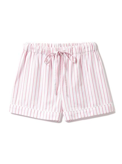 純棉條紋短褲