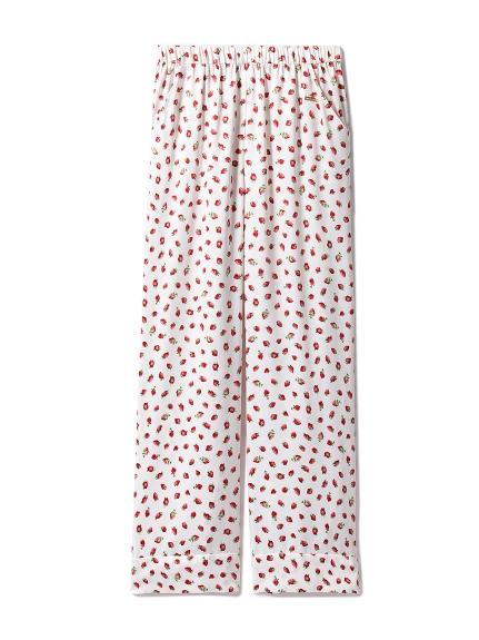 草莓印花長褲