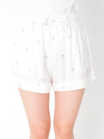 櫻桃圖案短褲