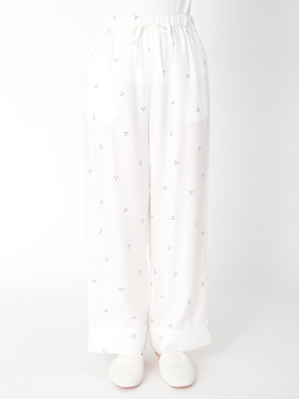 櫻桃圖案長褲
