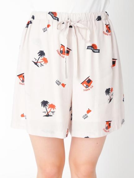 夏威夷風短褲