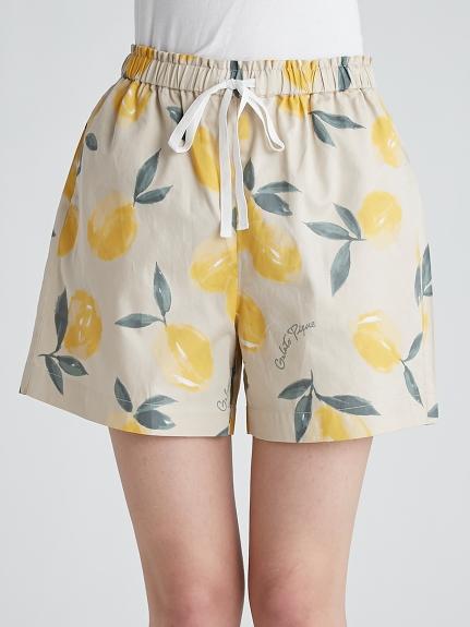 水果印花夏威夷短褲