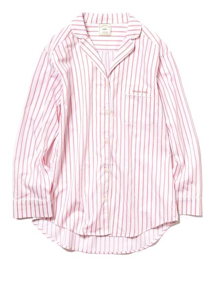 純棉條紋襯衫