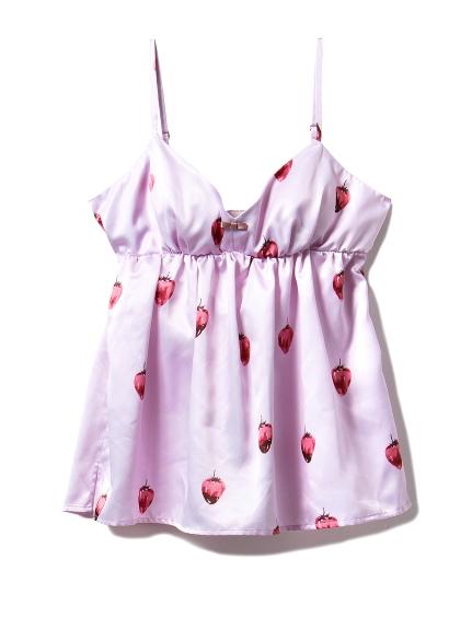 草莓巧克力吊帶背心
