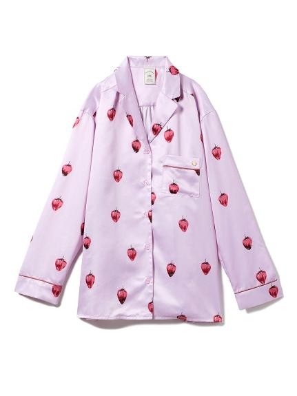 草莓巧克力襯衫睡衣
