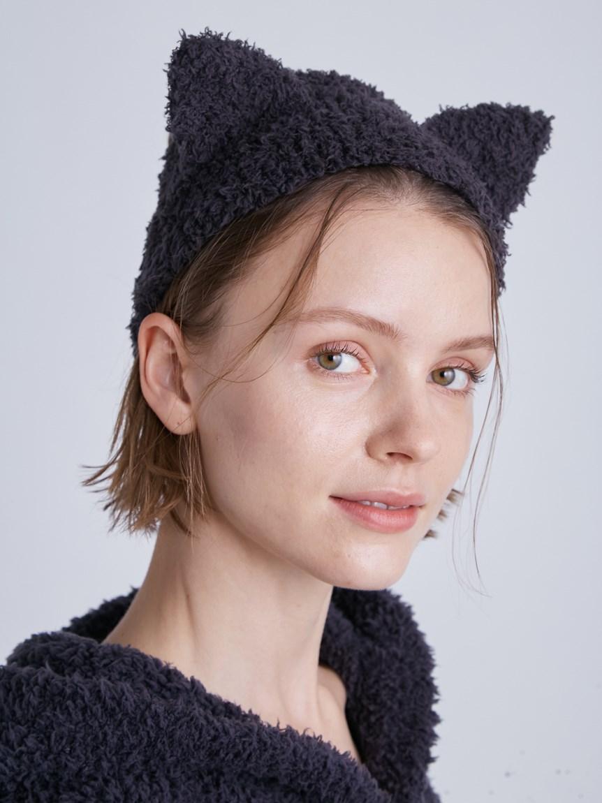 【LADIES】【Halloween限定】GELATO黑貓髮帶