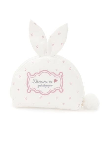 愛心兔兔收納包
