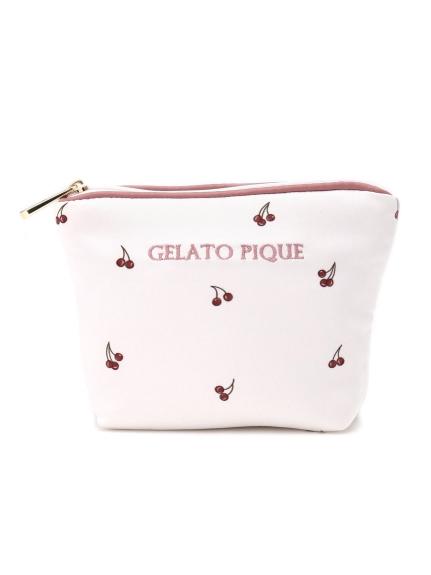 櫻桃緞面面紙收納包
