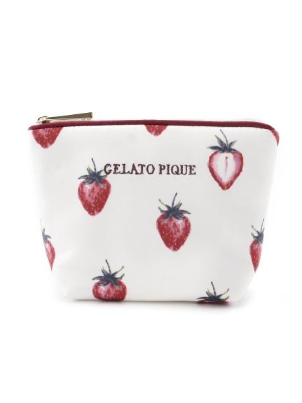 草莓主題面紙收納包