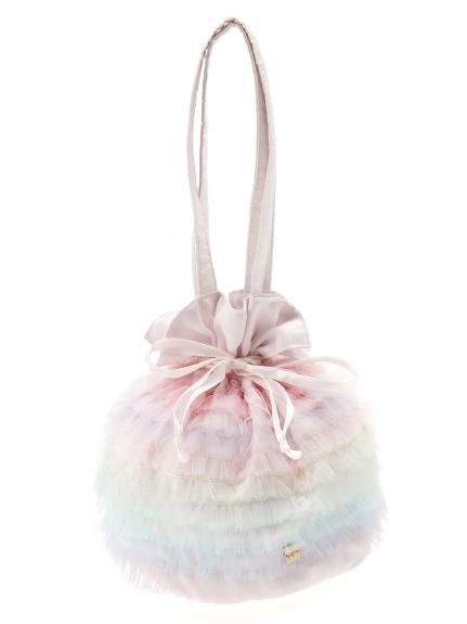 10色薄紗手拿包