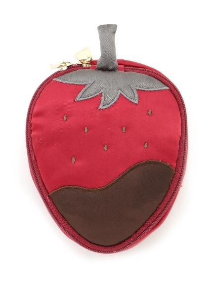 草莓巧克力飾品收納包