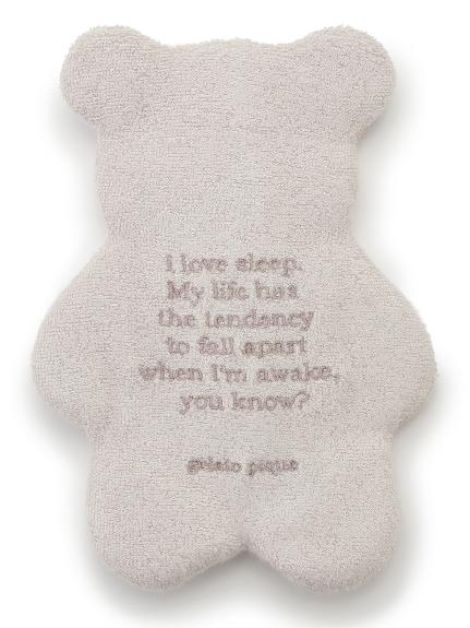 小熊毛巾布面紙包