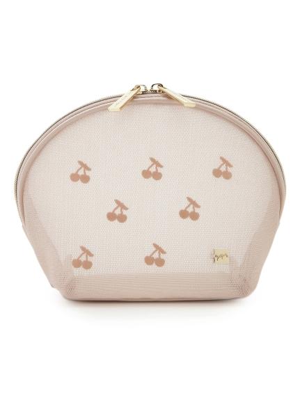 櫻桃網狀化妝包