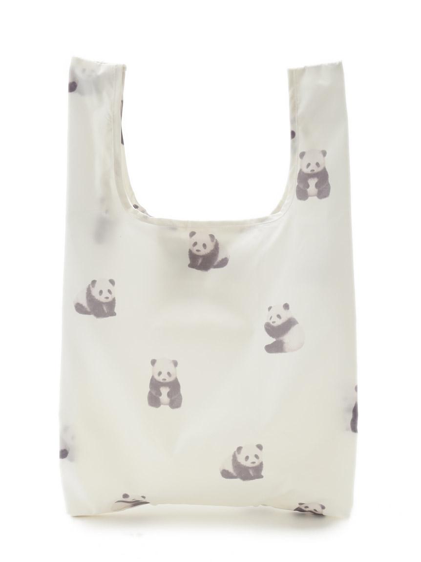 熊貓圖案購物環保袋
