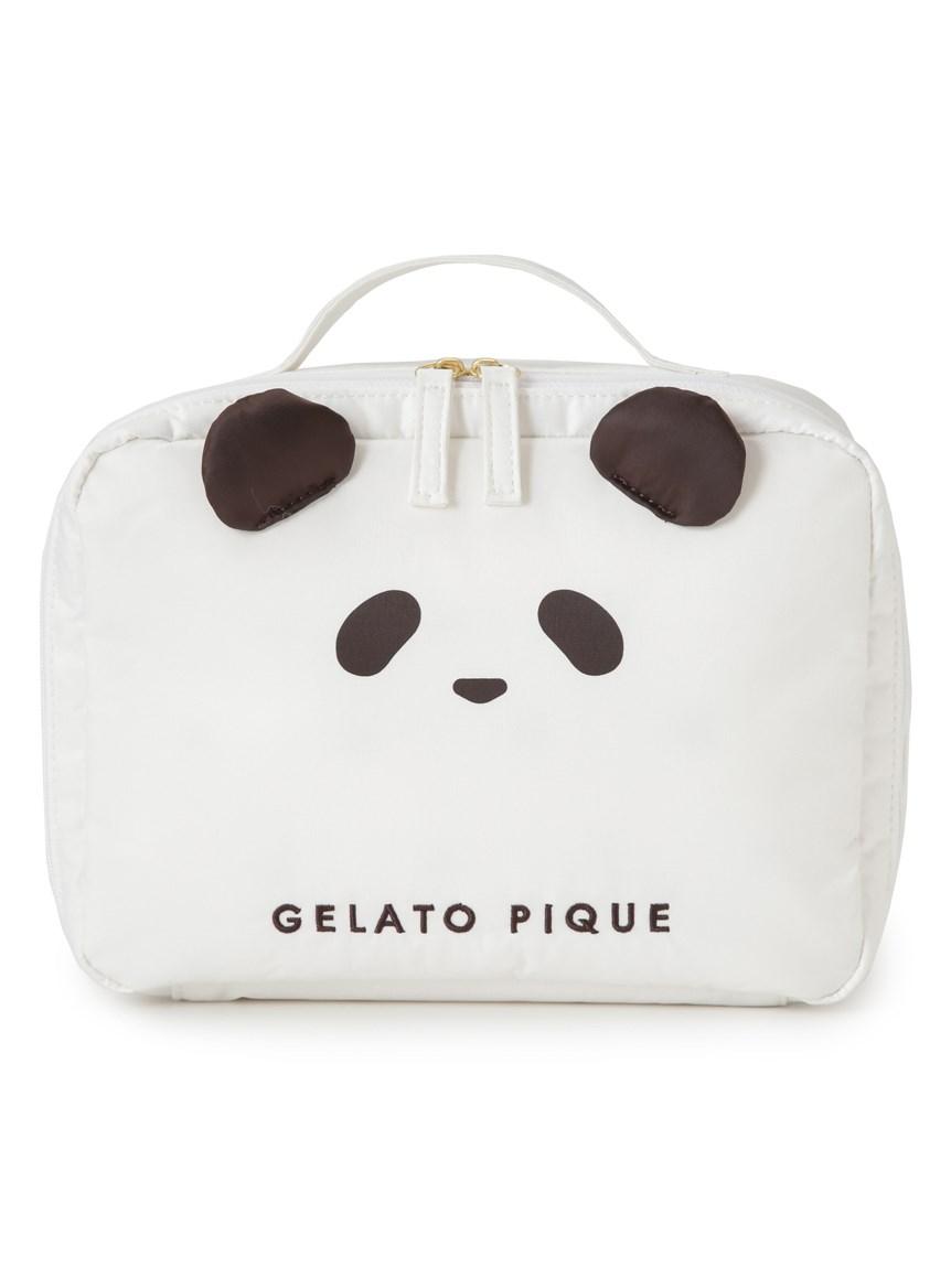 熊貓圖案尿布收納包