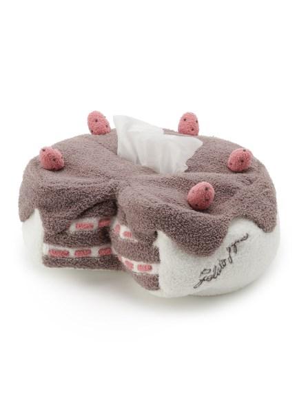 草莓蛋糕造型面紙盒