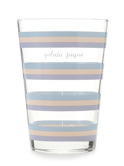 條紋玻璃杯