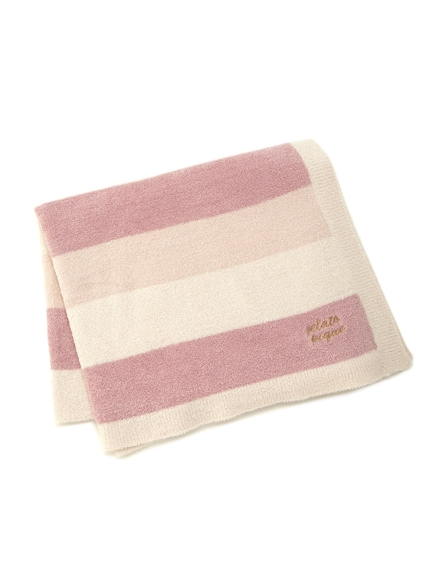 ' smoothie ' 3條紋毛毯