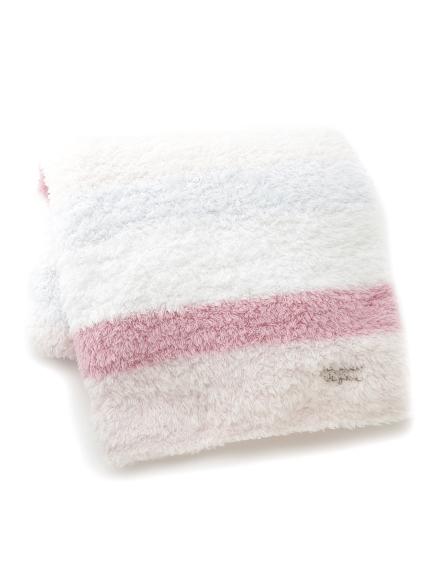 ' gelato ' 拼色條紋毛毯