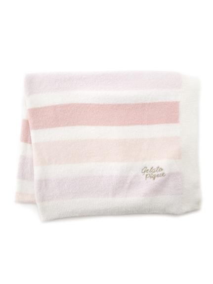 ' smoothie ' 4條紋毛毯