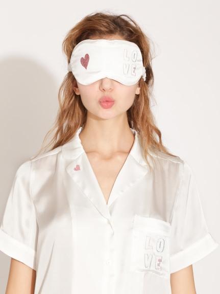 緞面印花眼罩