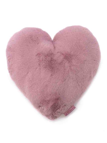 愛心造型絨毛抱枕