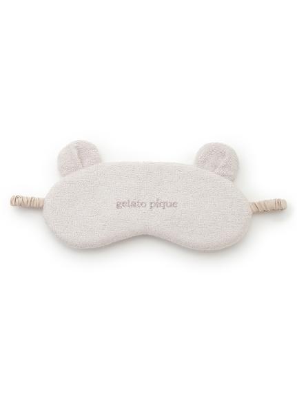 小熊毛巾布眼罩