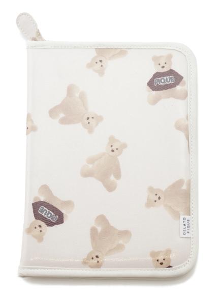 小熊圖案媽媽手冊包