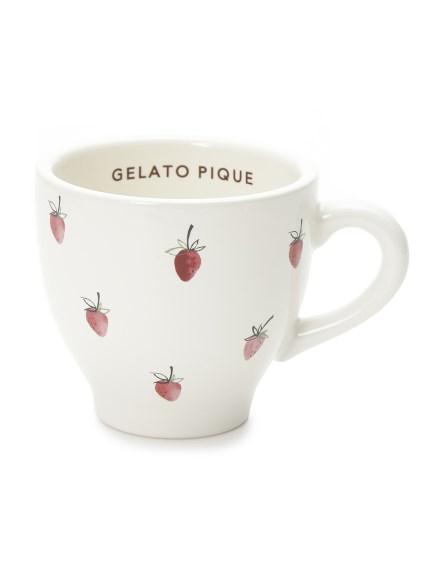 草莓圖案馬克杯