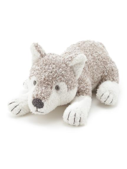 【旭山動物園】灰狼玩偶