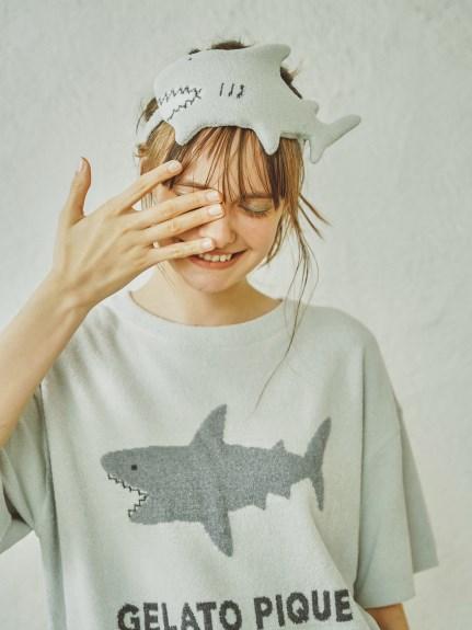 恐龍/鯊魚緹花眼罩