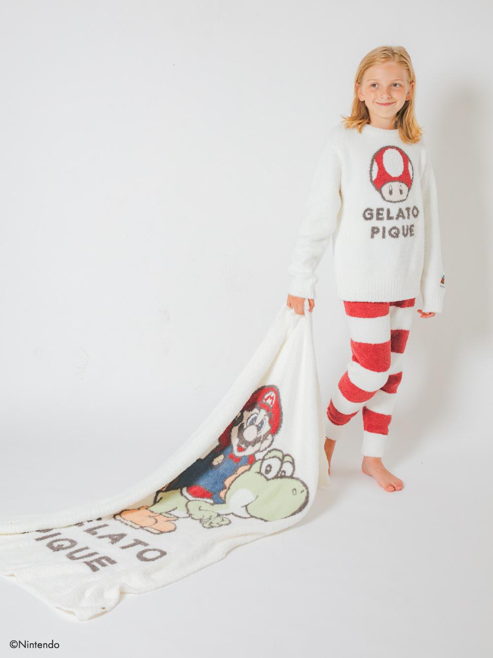 【超級瑪利歐】角色薄毯