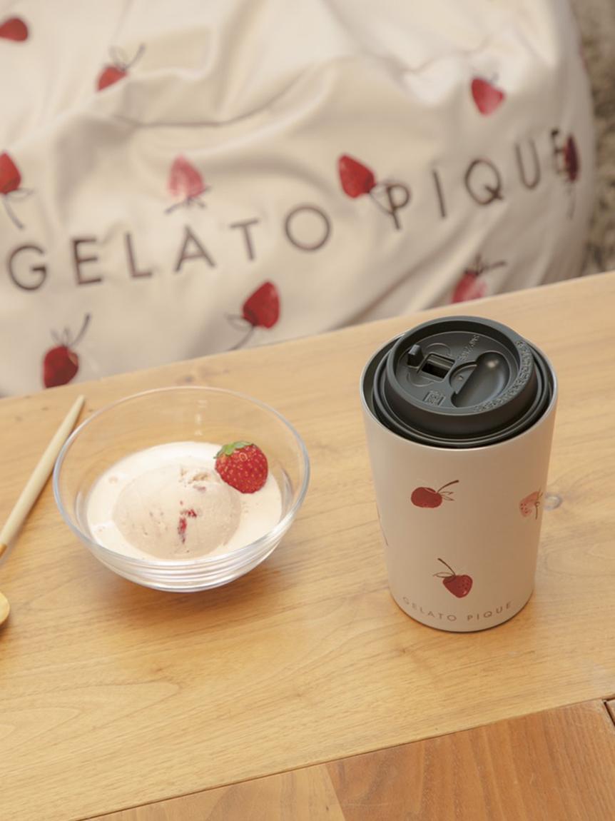 草莓圖案保溫杯