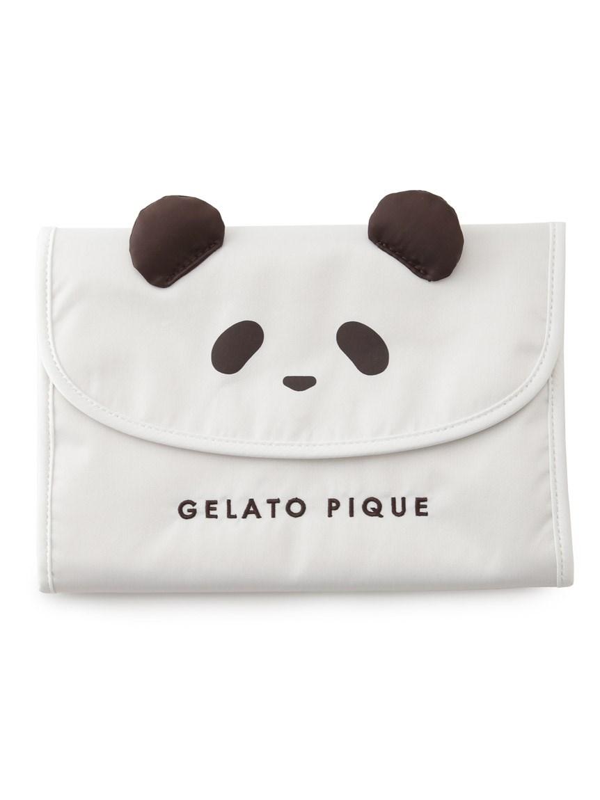 熊貓圖案媽媽手冊包