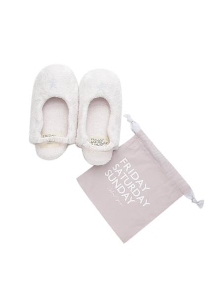 ' smoothie ' 星星刺繡室內鞋