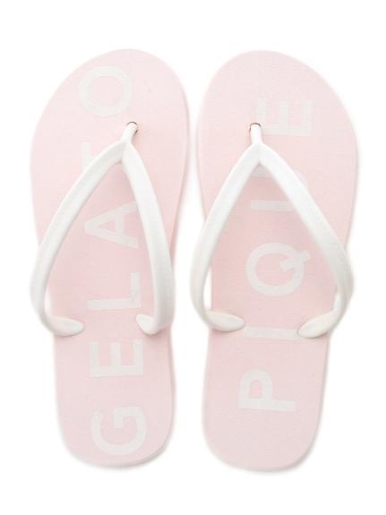 粉嫩沙灘拖鞋