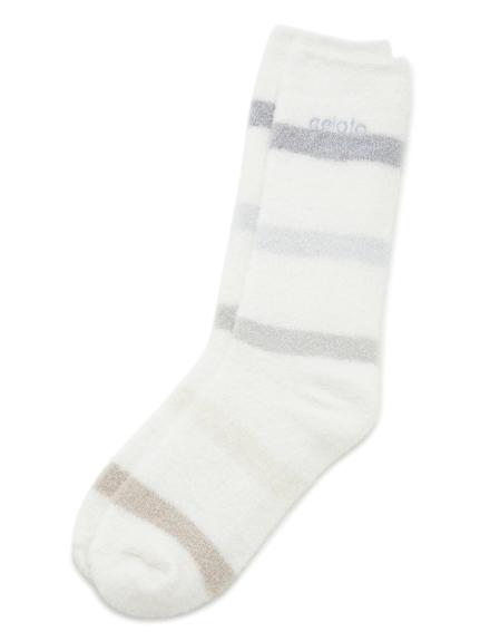 smoothie 6色條紋長襪