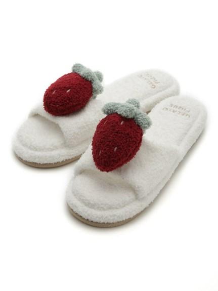草莓蛋糕室內拖鞋