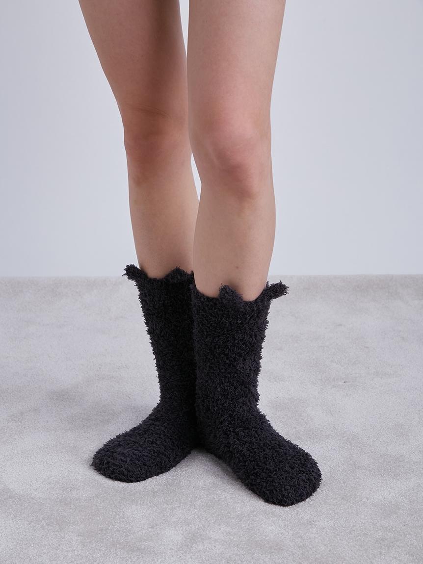【LADIES】【Halloween限定】GELATO黑貓長襪