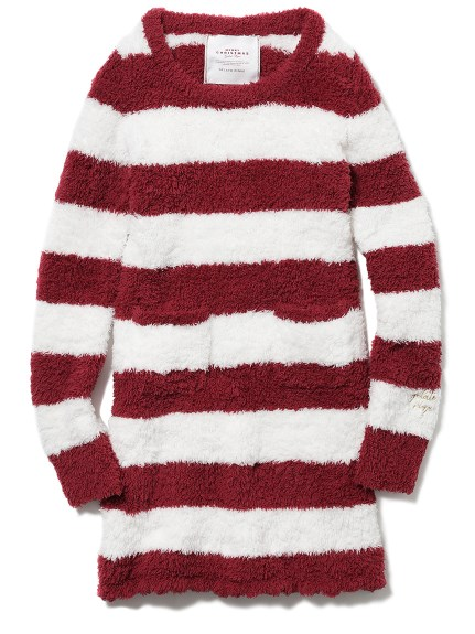 【X'mas】 ' gelato ' 2條紋連身裙